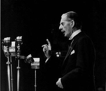 Chamberlain Declares War on Germany 1939