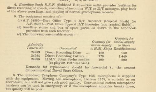 Australian Navy Fleet Orders 1945 excerpt.