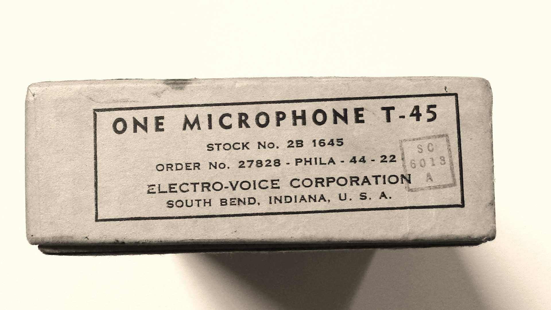 Electro-Voice T45 Box