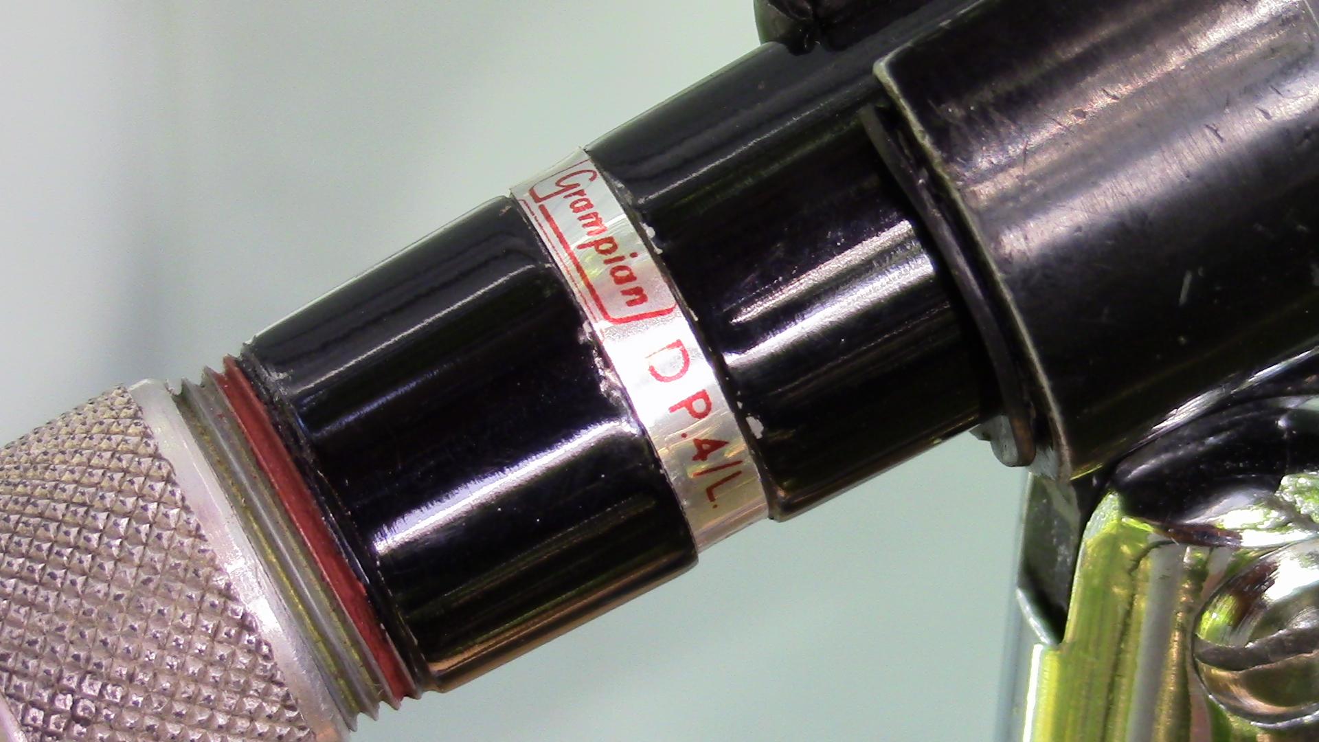 Grampian DP4 Label