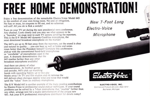 Electro-Voice_643 Advert