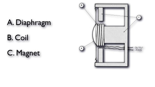 Dynamic-moving-coil-diagram