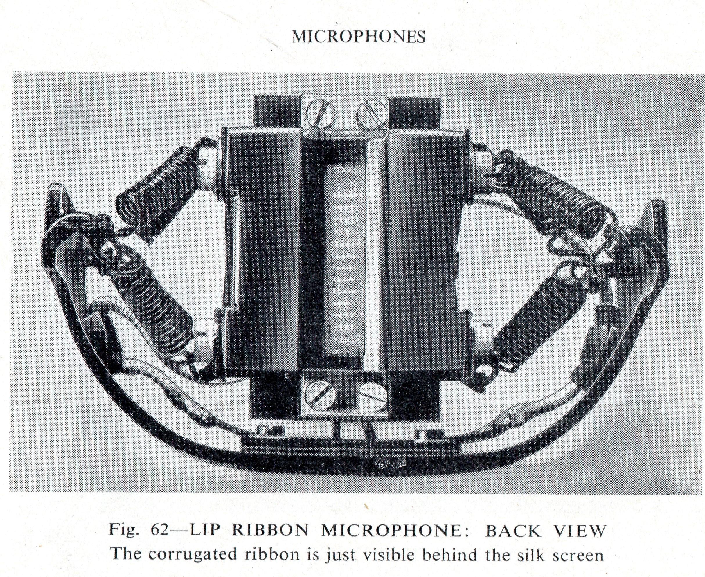 BBC Marconi Lip Mic Back view