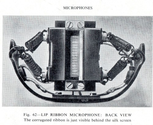 BBC Marconi Lip Mic Back view