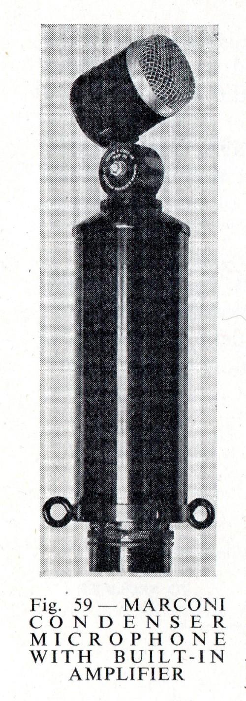 BBC Marconi Condenser Mic