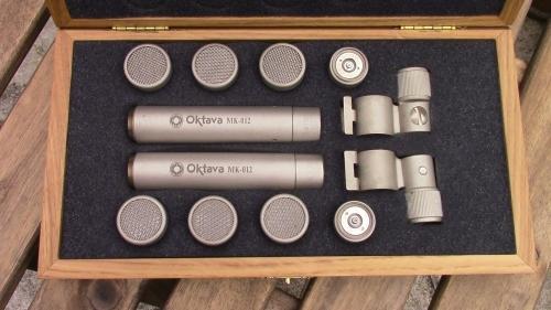 Oktava Mk012 Matched stereo pair.