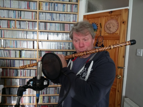 Andrew Glover-Whitley Chinese Flute Walking Stick