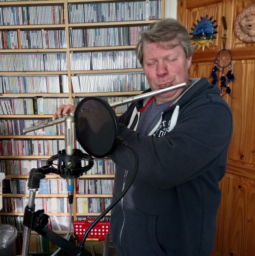 Andrew Glover-Whitley Rock Flute