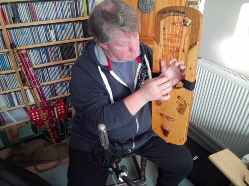 Anglo Saxon Lyre Andrew Glover-Whitley