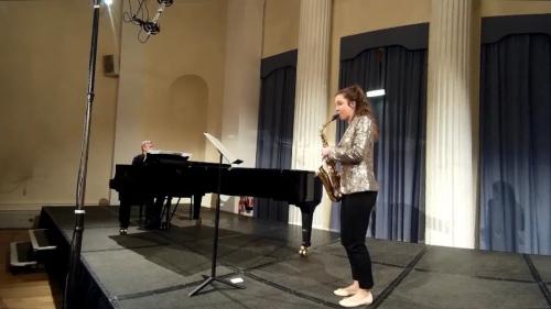 Lydia Kenny Saxophone with Damian Kenny Piano