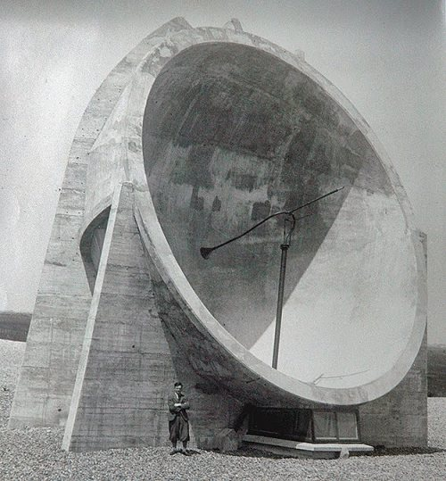 WW1 30ft Sound Mirror