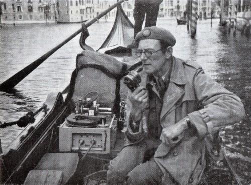 BBC OB Disc cutter Venice 1946