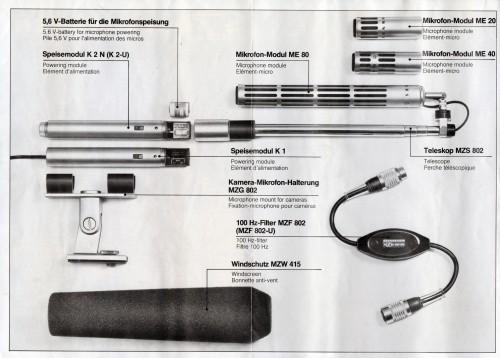 Sennheiser Telemike Operating Instructions 1976
