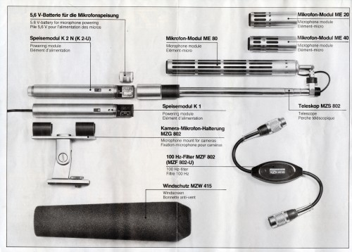 Sennheiser Telemike Operating Instructions 1976