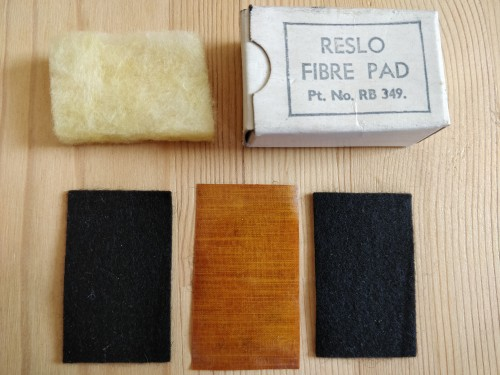 Reslo Filter Pads Kit 1961