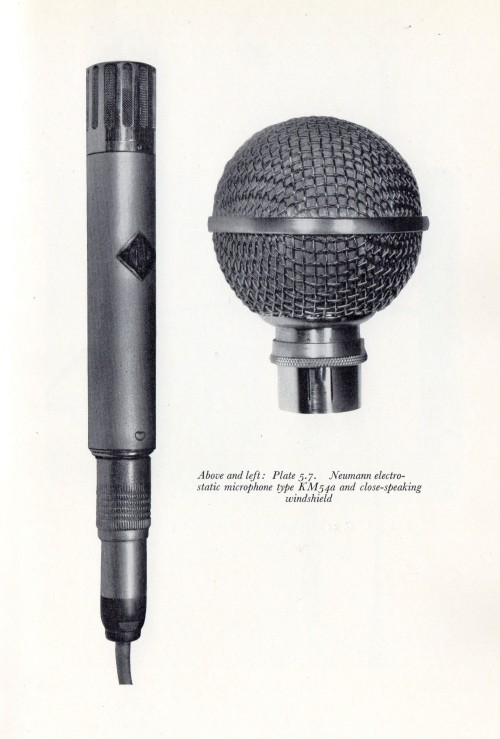 BBC Training Manual 1962 Neumann KM54