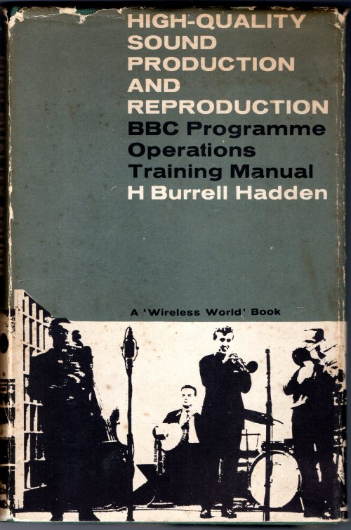BBC Training Manual 1962