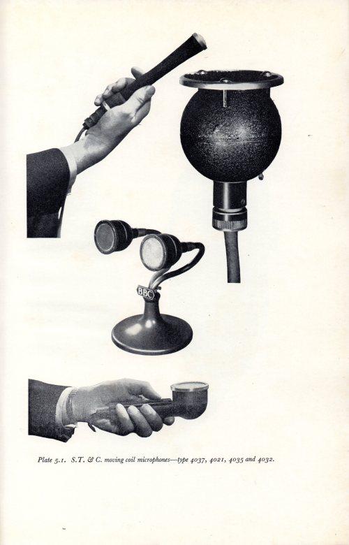 BBC Training Manual 1962 STC Dynamic Microphones