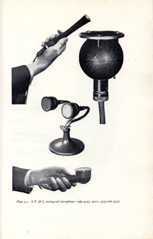 BBC Training Manual 1962 STC Dynamic Microphones