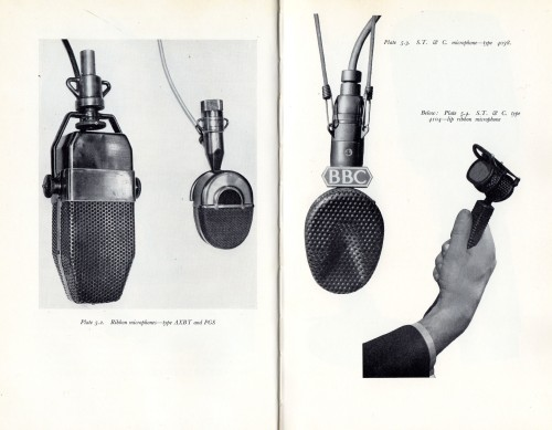 BBC Training Manual 1962 Ribbon Microphones