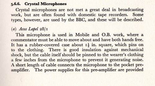 BBC Training Manual 1962