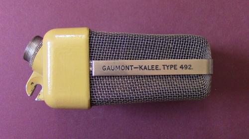 Gaumont-Kalee Type 492 Side view