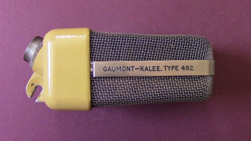 Gaumont-Kalee Type 492 Side view