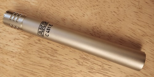 AKG C451E with old style logo