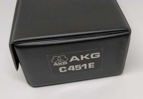 AKG C451E Original case