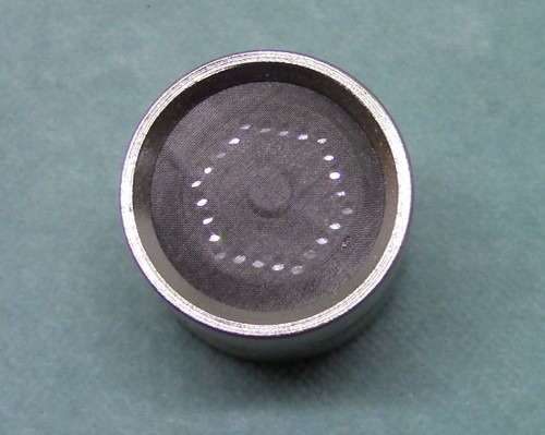Tonsil WCU-31 Cardioid capsule. Front view