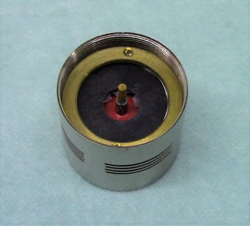 WCU-31 Cardioid capsule. Rear view.