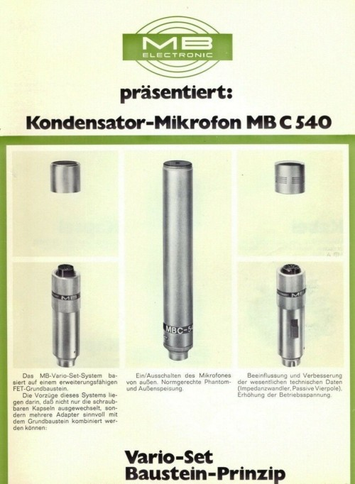 MB C 540 Advert