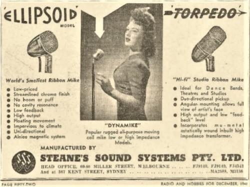 Steanes-1948-advert