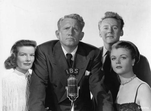 Katharine Hepburn, Spencer Tracy, Van Johnson, and Angela Lansbury in State of the Union (1948)