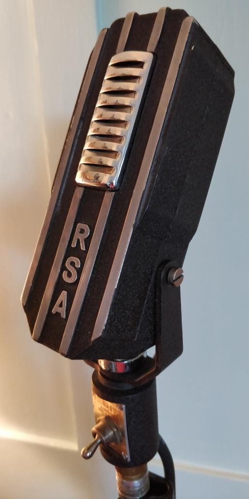 R.S.A. Selmer RL1 Ribbon Microphone.