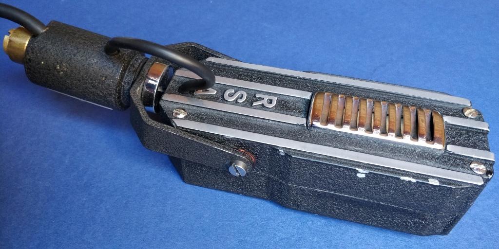 R.S.A. Selmer RL1 Ribbon Microphone Rear View..