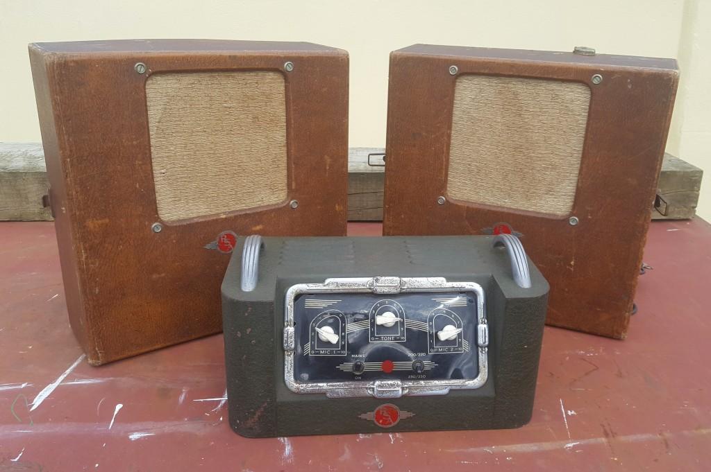 R.S.A Selmer U12 PA system