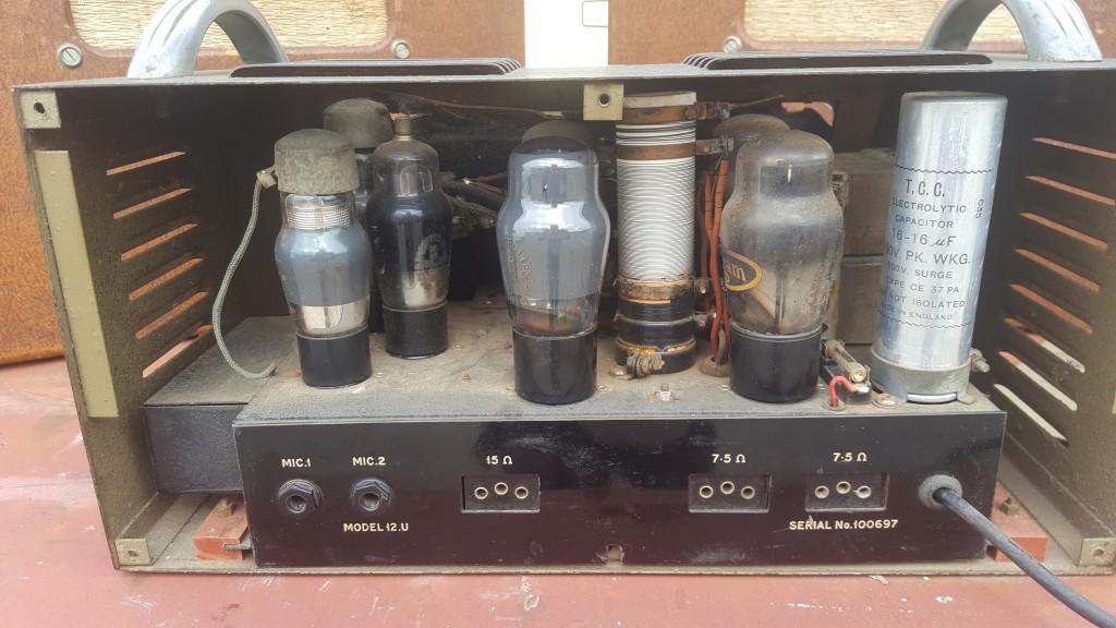 R.S.A Selmer U12 PA Amplifier