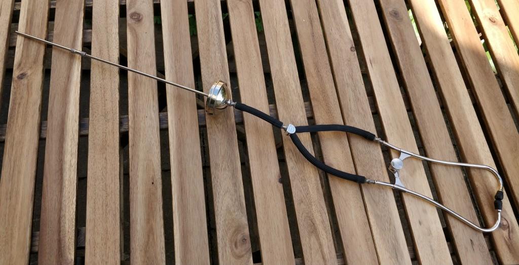 Capac BIN-AURAL with single tectoscope.