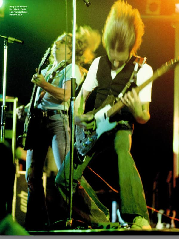 Status Quo with Valan Atlas PMS3 Microphone Stands